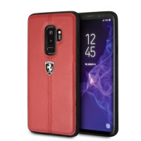 Ferrari Off Track Vertical Hardcase - Samsung Galaxy S9 Plus - Red