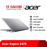 Laptop Acer Aspire Z476 Core i3-6006U UN.CETSD.B02
