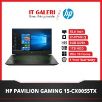 Laptop HP Pavilion Gaming Laptop 15-cx0055tx