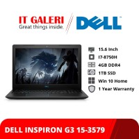 Laptop Dell Inspiron G3 15 3579 Core i7 Black