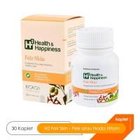 H2 Fair Skin - Suplemen Kesehatan Kulit Flek atau Noda Hitam