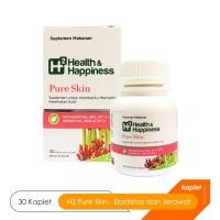 H2 Pure Skin - Suplemen Kesehatan Kulit Berjerawat atau Jerawat