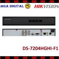 DVR HIKVISION TURBO HD 4CH / 4 CHANNEL DS-7204HGHI-F1 ORIGINAL