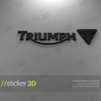 Harga triumph 01 3d sticker stiker emblem motor | antitipu.com
