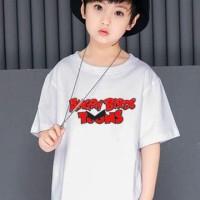 Jual Kaos Anak Angry Birds Toons - Red Merch Murah