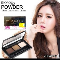 Bioaqua Powder Eyebrow eyeshadow Kit 3 in 1