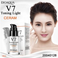 Bioaqua V7 Toning Light - Whitening facial cream Moisturizing
