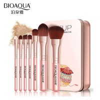 kuas Make Up Brush 7PCS kosmetik blush on fundasion eyeshadow lip
