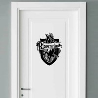 Sticker Dinding Rumah Pintu Ravenclaw Harry Potter