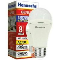 Lampu LED Hannochs Genius 8W (emergency light) - BUKAN PHILIPS