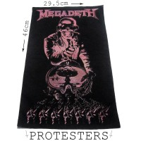 BACKPATCH HEAVY METAL MEGADETH