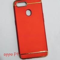Harga oppo f9 case 3in1 list chrome | antitipu.com