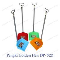1 set Pengki Plastik / Serok Sampah / Dust Pan Golden Hen DP - 520