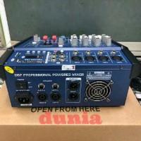 Harga power mixer linkmaster pmx 402 d 4 channel dunia sound | Pembandingharga.com