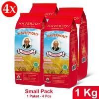 Haverjoy Small Pack Instant Oats 1 kg - 4 pcs