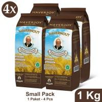 Haverjoy Small Pack Quick Cooking Oats 1 kg - 4 pcs