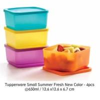 Jual Tupperware Small Summer Fresh New Color (4) (PROMO) Murah