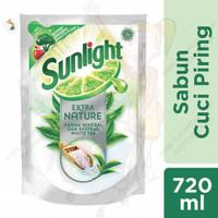 SUNLIGHT EXTRA NATURE 800ML/SABUN CUCI PIRING DAN BISA CUCI BUAH&SAYUR