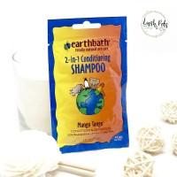 Earthbath 2-in-1 Mango Tango Conditioning Dog & Cat Shampoo, 30ml