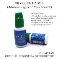 Sky Glue DA 5ML ( Untuk Begginer / Khusus Mata Sensitif ) Lem Sky Glue