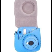 Fujifilm Kamera Instax Mini 9, 8 Leather Bag Case Instax