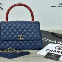 cd502ad6b9e2 Tas Chanel 2012-3 Coco Elaphe Top Handle Caviar Small