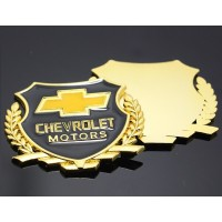 Harga promo stiker 3d logo chevrolet vip motors wheat car logo | Pembandingharga.com