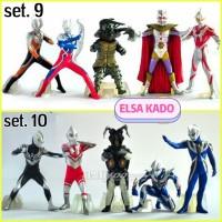 Jual mainan anak action figure ultraman monster set hiasan