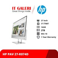 Desktop HP Pavilion All-in-One 27-r074d