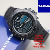 (swatch, ac) JAM TANGAN PRIA TAJIMA MJx156 WATER RESISTANT - WARNA A