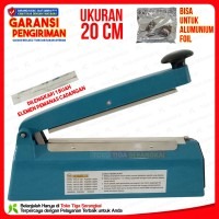 Homelux Impulse Sealer PFS-200 Alat Press Plastik 20 cm
