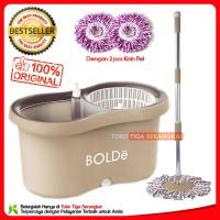 Bolde Super Mop M-169X+ (NEW) Pel Lantai - Coklat