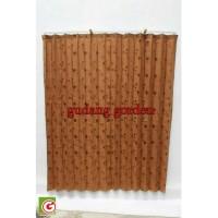Gorden Plisket Kawat SABATO LEBAR 90 x TINGGI 185