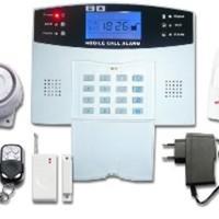 Best Deal Alarm LCD Wireles & Wired GSM Pengamanan Rumah / Ruko