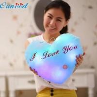 Bantal LED Menyala cocok hadiah Valentine