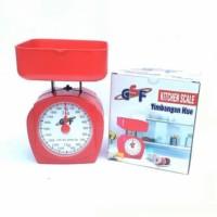 Timbangan Kue Serbaguna Kitchen Scale Analog / Manual GSF 2 KG