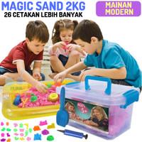 Pasir Ajaib Kinetik Sand PLAY SAND Paket Jumbo 2KG