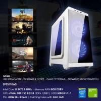 PC GAMING   i5 3470 / 8GB / 500GB / GTX 1050Ti 4GB   PUBG DOTA CSGO