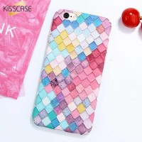 Kisscase Mermaid Scale 3D Hardcase for iPhone 7/8-iPhone 7/8