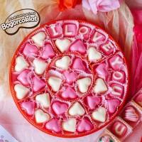 Coklat Valentine Toples Merah