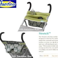 infantino stretch stroller storage