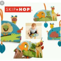 skip hop pupper activity book mainan buku bayi