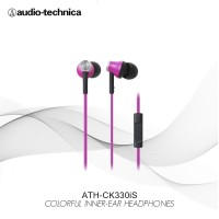 Audio-Technica ATH-CK330iS PK ( EX ) PINK