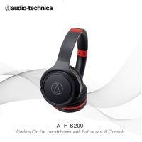 Audio-Technica ATH-S200BT Wireless Over-Ear Headphones - Black