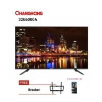 Changhong 32E6000i Hitam TV LED [32 Inch]