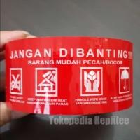 Lakban Daimaru - Tanda Jangan Dibanting - Daimaru - 1 roll