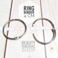 [4cm] ring buka tutup binder bussybook craftbook