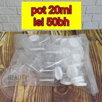 [isi 50] Pot urine 20ml pispot wadah salep kosmetik dan krim