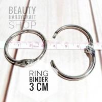 [3 cm ] ring buka tutup craftbook bussybook
