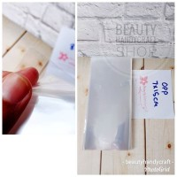 [isi 50] Plastik kaca 7x15 cm tanpa perekat